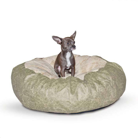 K&H Pet Products KH7517 Self Warming Cuddle Ball Pet Bed