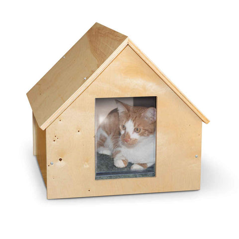 K&H Pet Products KH9601 Birdwood Manor Unheated Kitty House