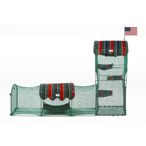 Kittywalk KWTC249 Town and Country Collection Outdoor Cat Enclosure