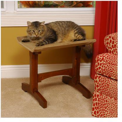 Craftsman Series MH17101 Single Seat Cat Perch - Peazz.com