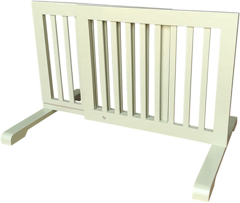 MDOG2 MK814-720LTGRN Free Standing Pet Gate - Light Green - Peazz Pet - 1