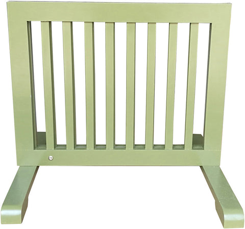 MDOG2 MK814-720WDBN Free Standing Pet Gate - Woodbine - Peazz Pet - 3