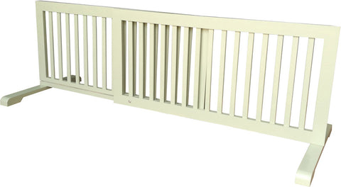 MDOG2 MK814-721LTGRN Free Standing Step Over Gate - Light Green - Peazz Pet - 1