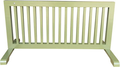 MDOG2 MK814-721WDBN Free Standing Step Over Gate - Woodbine - Peazz Pet - 3
