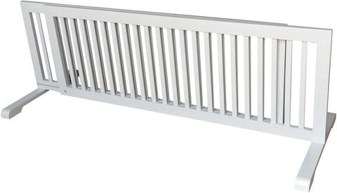MDOG2 MK814-722GRY Free Standing Pet Gate - Grey - Peazz.com - 1