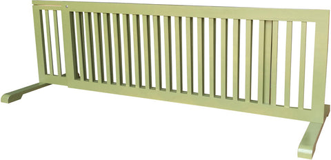 MDOG2 MK814-722WDBN Free Standing Pet Gate - Woodbine - Peazz Pet - 3