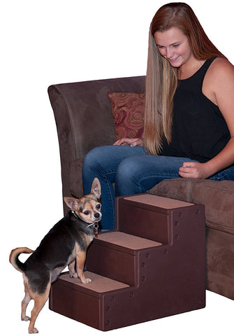 Pet Gear PG963CH Stairs / Ramps Chocolate Finish