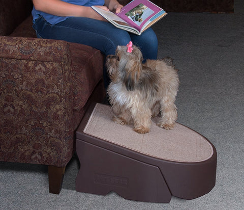 Pet Gear PG9700CH Stairs / Ramps Chocolate Finish
