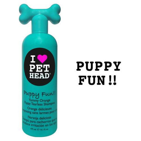Pet Head PH10102 Puppy Fun Tearless Shampoo Yummy Orange 16oz