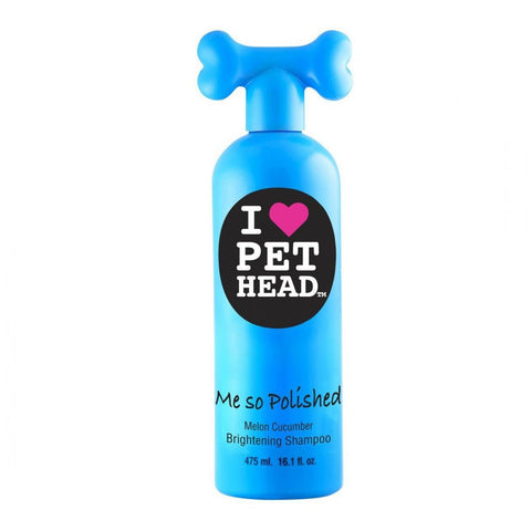 Pet Head PH10108 Me So Polished Brightening Shampoo Pina Colada 16 ounces