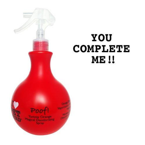 Pet Head PH10302 Poof Magical Deodorizing Spray Yummy Orange 15oz