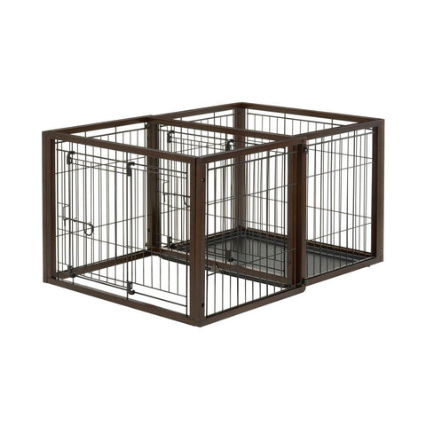 Richell R94924 Flip To Play Pet Crate
