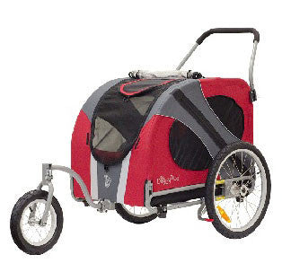 DoggyRide Original Dog Jogger-Stroller (DRORJS09-RD) - Peazz Pet - 1
