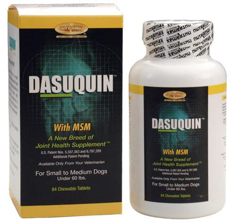 Dasuquin for Small/Medium Dogs under 60 lbs. with MSM (84 Chews) - Peazz.com