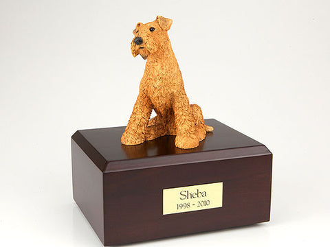Airedale Terrier TR200-006 Figurine Urn - Peazz Pet - 1