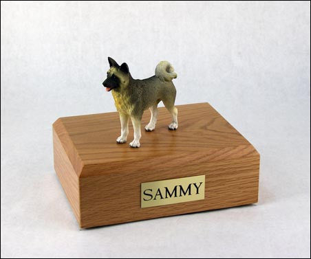 Akita, Gray TR200-506 Figurine Urn - Peazz Pet - 1