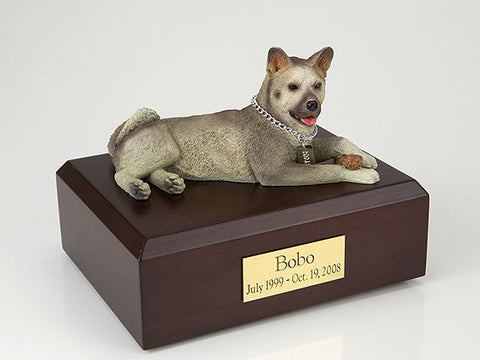 Akita, Gray TR200-1512 Figurine Urn - Peazz Pet - 1
