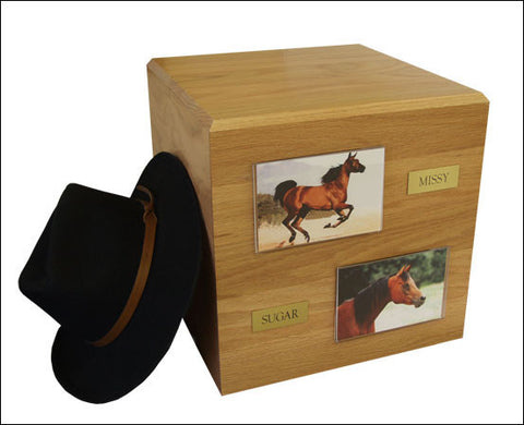 Horse PH600 Cremation Urn (Urn Only) - Peazz Pet