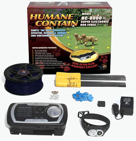 Humane Contain HC-8000  Humane Contain Electronic Fence Ultra System - Peazz.com
