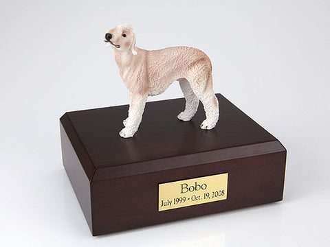 Bedlington Terrier, Tan TR200-316 Figurine Urn - Peazz Pet - 1