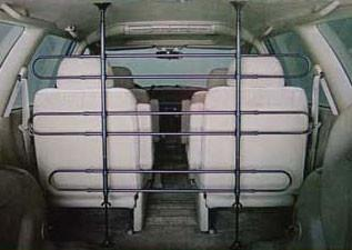 Midwest 6 Bar Tubular Vehicle Barrier Expandable for Sport RVs - Peazz.com