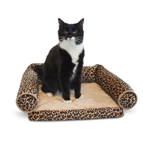 "K&H Pet Products KH3346 Lazy Lounger Zebra 14"" x 16"" x 5.5"" - Peazz.com"