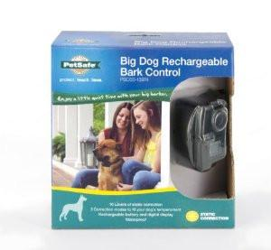 Big Dog Rechargeable Bark Control - Peazz.com
