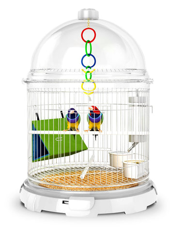 BioBubble Pets 35072015 Bird Bundle - White - Peazz Pet