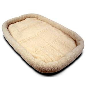 "30"" Majestic Pet Crate Pet Bed Mat (Sherpa) - Peazz Pet"