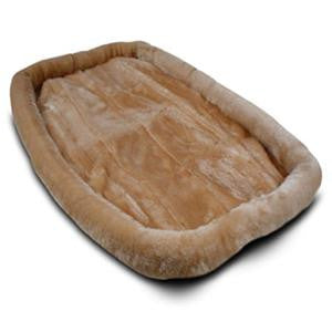 "48"" Majestic Pet Crate Pet Bed Mat (Honey) - Peazz Pet"