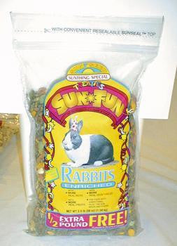 Rabbit Sun Fun 3.5lb (6pc) - Peazz Pet