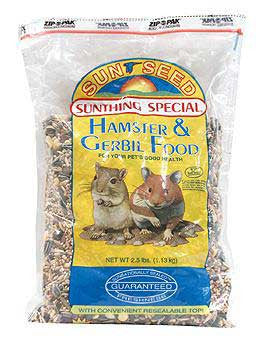 Hamster Food 2.5lb 6cs - Peazz Pet