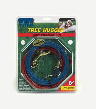 C Cable Tieout Tree Hugger 8ft - Peazz Pet