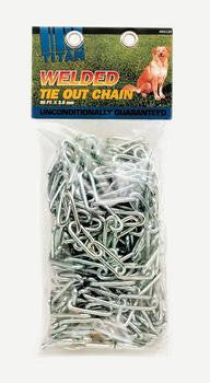 C Chain Welded Link Tieout 3.8mm - 10ft - Peazz Pet