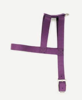 "C Nyl Single Layer Harness 1""x30""-black - Peazz Pet"