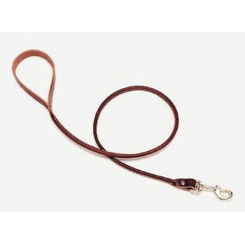 "C Lth Latigo Lead 3/4""x4ft - Peazz Pet"