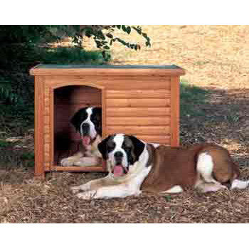 Prec Extreme Log Cabin 33x25x22 Small - Peazz Pet