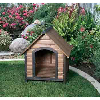Prec Large Country Lodge Dog House 32x40x34 - Peazz Pet