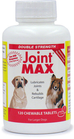 Joint MAX DS (Double Strength) 120 Chewable Tabs - Peazz Pet