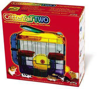 "Crittertrail ""two"" Home 16 X 6 X 15.63""h (multi - color) (100079217) - Peazz Pet"