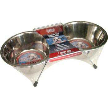 Stainless Steel Packaged Double Diner Pint - Peazz Pet