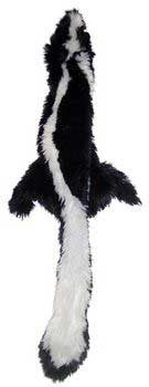 "Skinneeez Plush Skunk 24"" (5369) - Peazz Pet"