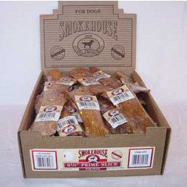 "Smokehouse 6.5"" Prime Slice Shelf Display Box 40ct - Peazz Pet"