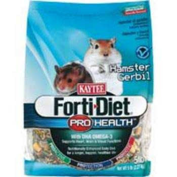 Kaytee Forti Diet Pro Health Hamster Gerbil 5lb 6cs (100502074) - Peazz Pet