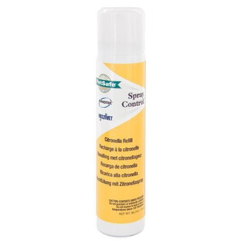 2.4oz Citronella Refill for MultiVet Anti-Bark Spray Collar (PAC19-12069) - Peazz Pet