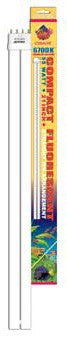 55w Compact Flo 6700k Straight Pin Bulb - Peazz Pet