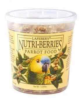 Parrot Nutri - berries 12oz (81650) - Peazz Pet