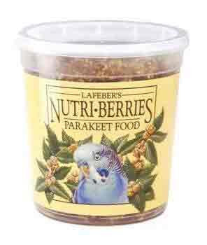 Parakeet Nutri - berries 12.5oz (81630) - Peazz Pet