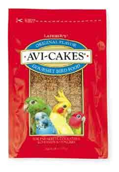 2 Quantity of Avi - cakes For Keet Tiel & Lovebirds 8oz (86010) - Peazz Pet