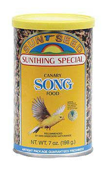3 Quantity of Canary Song Food 7oz (can) - Peazz Pet
